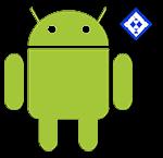 Андроид со знаком